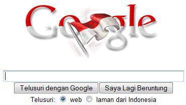 google merah putih